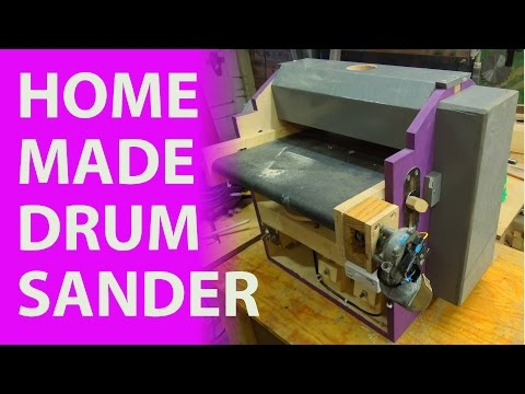 Homemade Drum Thickness Sander