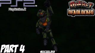 Ratchet Deadlocked Gameplay Walkthrough Part 4 Avenger Tournament - PS2 Lets Play