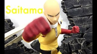 Dasin Model One-Punch Man SAITAMA Action Figure Toy Review