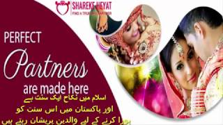 Find Perfect Partner from sharekehayat