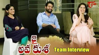 Jai Lava Kusa Team Interview | Jr NTR, Rashi Khanna, Nivetha Thomas
