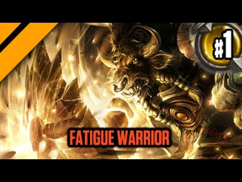 Day9 HearthStone Decktacular #309 - Fatigue Warrior