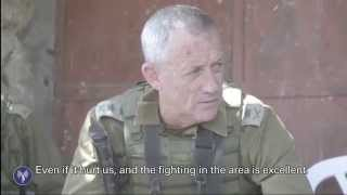 IDF Chief of Staff Visits Soldiers in Gaza