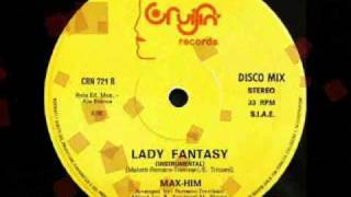 High Energy 80s - MAX HIM - Lady Fantasy Instrumental 1985.