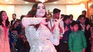 Minal Khan Dance Performance on Aiman Khan Engagement