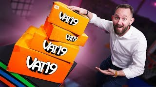 Buying & Trying Every Vat19 Mystery Box!