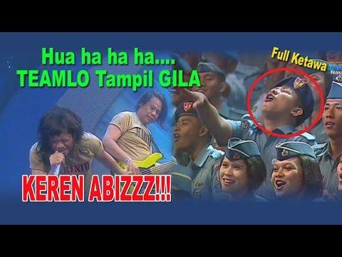 Gara-Gara TEAMLO, Prajurit Aja Sampe Histeris !!!.... Hua ha ha ...!!! | Lawak Kamera Ria 7 Mei 2013