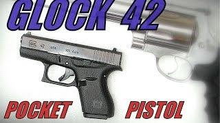 Glock 42 Pocket Pistol