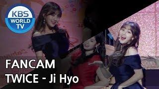 [FOCUSED]TWICE's Jihyo - What is Love? [Music Bank / 2018.04.13]