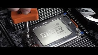 Threadripper 2990WX - 2950X & Wraith Ripper DIY Install