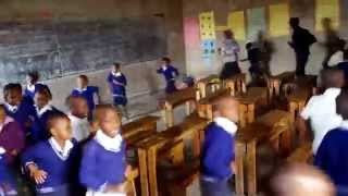 School in Ruhengeri, Rwanda.