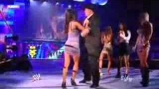 Aj Lee dancing on NXT season 3