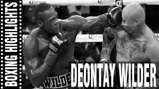 Deontay Wilder Highlights