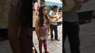 Caminos De Michoacan (niña De 11 Años Impresiona Con Su Voz)