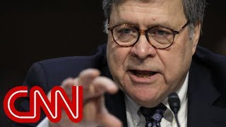 Barr questioned about Comey