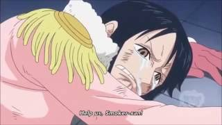 EPIC | Help Sanji to Tashigi | Vergo vs Sanji | English SUB
