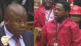 EFF Ndlozi vs Des van Rooyen - Funny