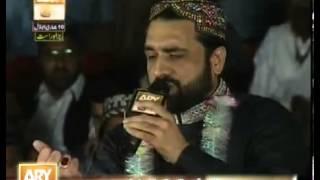 Qari Shahid Mehmood   Ary Qtv Live Mehfil e Naat Jhelum 22 March 2013   Best Kalams collection