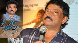 Ram Gopal Varma says about His Wife at 365 Days Audio Launch