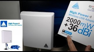 Melon N4000 antena WiFi Panel chip RT3070 largo alcance con Router R658