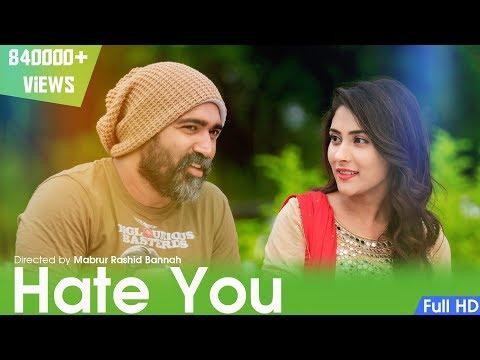 Bangla Natok | HATE YOU | By Mabrur Rashid Bannah Cast: Jon Kabir | Mehazabin Chowdhury