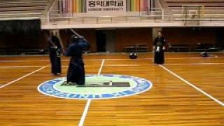 2010. 1. 30. Jelene's shiai in HongIk Univ  2