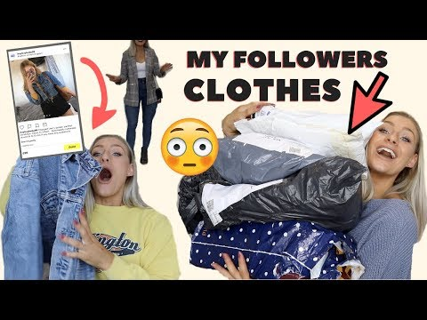 Xxx Mp4 BUYING MY FOLLOWERS CLOTHES HERE S WHAT I GOT 3gp Sex