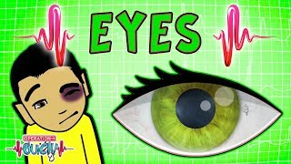 Operation Ouch - Extraordinary Eyes & Optical Illusions   The Human Head   Science for Kids