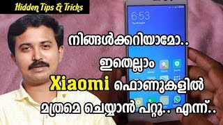 10+ Hidden Redmi Note 4 Tips and Tricks with Xiaomi MIUI 8.1 | Malayalam