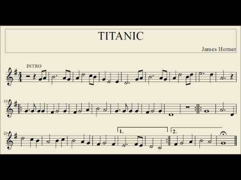how to play the recorder for titanic