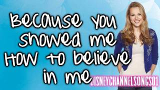 Bridgit Mendler - How To Believe With Lyrics HD