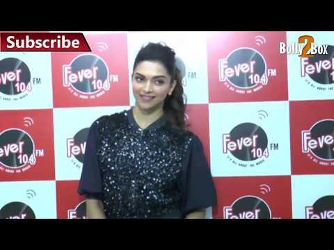 Deepika Padukone Promote Piku At Fever 104 FM   Bolly2Box