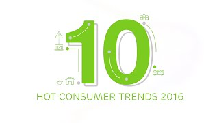 The 10 hot consumer trends for 2016