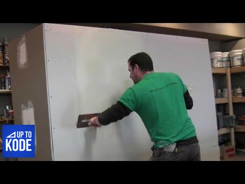 Best Way to tape and coat a Butt Joint in Drywall 2012