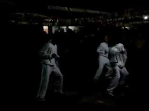 Dança de Rua na festa Julina da escola Canuta Rosa