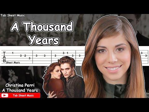 Christina Perri A Thousand Years Guitar Tutorial
