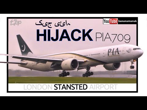 Xxx Mp4 Emergency Landing Pakistan Plane At London Stansted PIA709 PIA Boeing 777 Suspected Hijack 3gp Sex