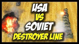 ► World of Tanks: USA vs USSR Tank Destroyer Lines - Face Off #19