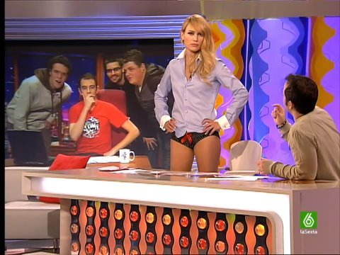 SLQH Patricia Conde en bragas