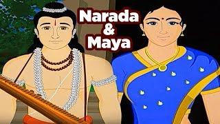 Swami Vivekananda Tales | Narada And Maya | Hindi Animated Stories | Masti Ki Paathshala