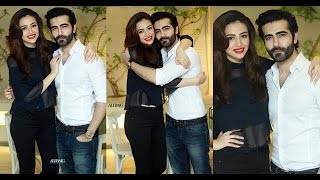 Sana Javed with her Brother Abdullah Javed