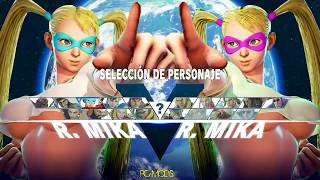 Street Fighter V PC mods - R.Mika wearing a T-shirt