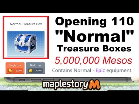 Xxx Mp4 110 Normal Treasure Chest Pulls 5 000 000 Mesos LEARN FROM MY MISTAKE Maplestory M Video 3gp Sex