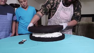 DIY Giant Oreo Cookie Challenge 1000 Cookies!!