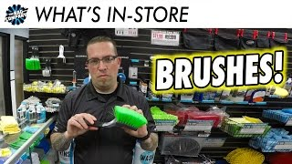 Auto Detailing Brushes | WHAT