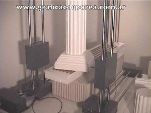 Cortadora CNC de Letras y Logos Corpóreos en Polyfan y Telgopor Modelo Pro