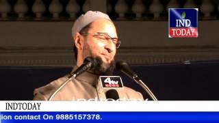 Asaduddin Owaisi replies to Raja Singh Dadri Comments  | Asaduddin Owaisi speech on Beef Festival