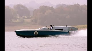 Sir Malcolm Campbell's Bluebird Put Though Her Paces For First Time In 80 Years