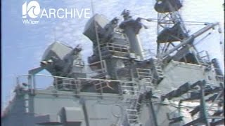 WAVY Archive: 1980 USS Albany Deactivation Ceremony
