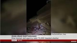 BREAKING NEWS:THE CAUSE OF IRAN-IRAQ EARTHQUAKE 2017